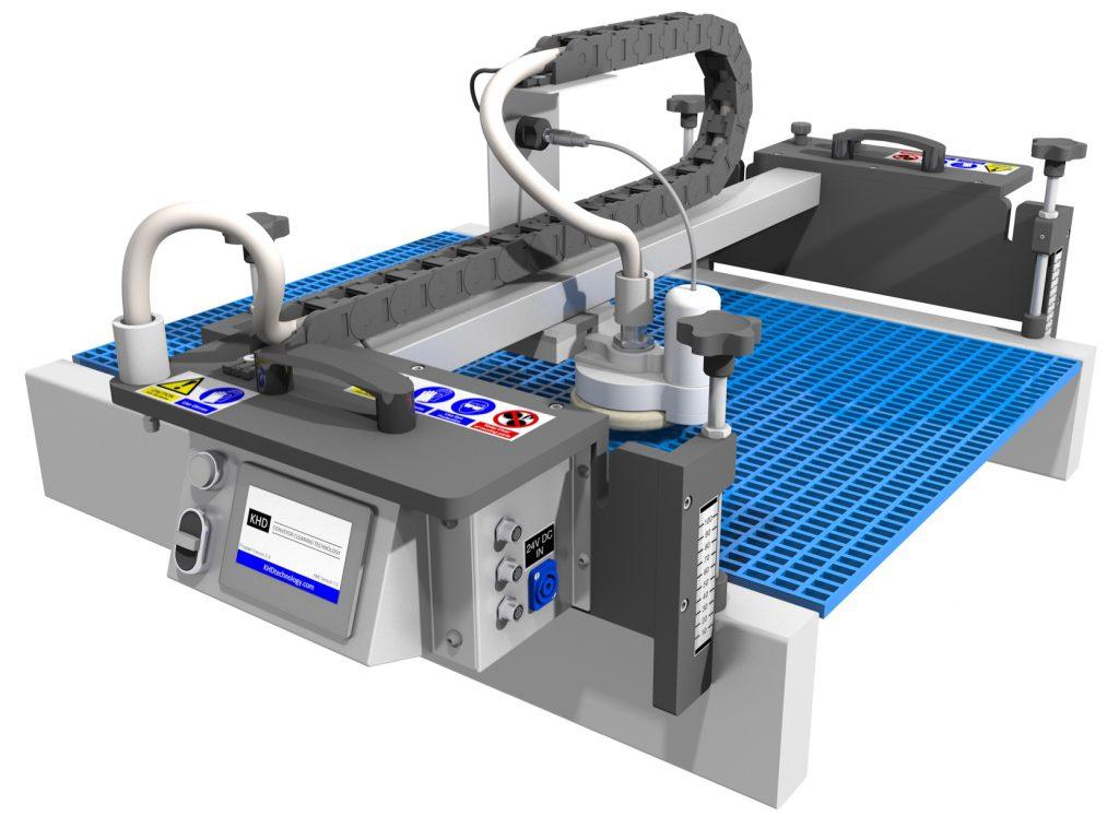 Nettoyage tapis à mailles JET System 4 avec tête rotative