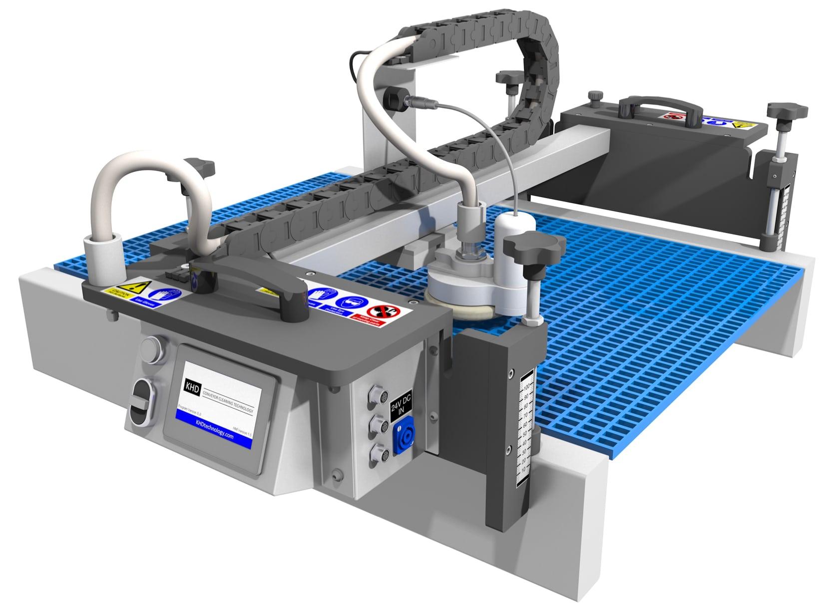 KHD automatismes de nettoyage vapeur by KSG France