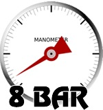 8 bars